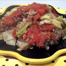 Lazy Stuffed Cabbage Casserole