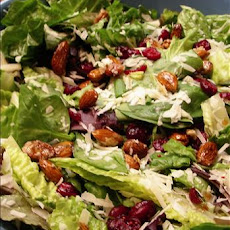Cranberry Almond Lettuce Salad