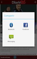 Screenshot of Diario 26