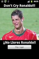 Screenshot of Don't Cry Ronaldo