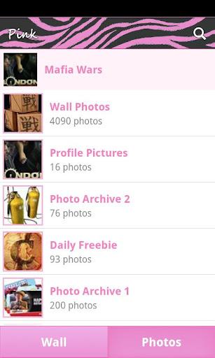 Pink Zebra for Facebook - screenshot