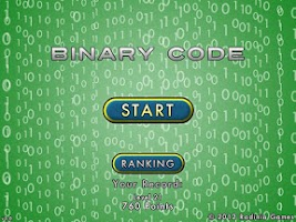 Screenshot of Binary Code