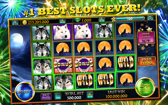 Slots™ Wolf FREE Slot Machines APK screenshot thumbnail 1
