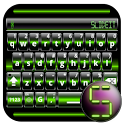 SlideIT Green Digital Skin icon
