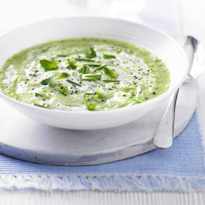 Green Cucumber & Mint Gazpacho