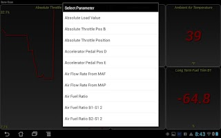 Screenshot of Dyno-Scan (OBD II Scan Tool)