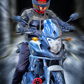 Alan by Ferdinand Ludo - Transportation Motorcycles ( honda, motorcycle, sport cruiser )