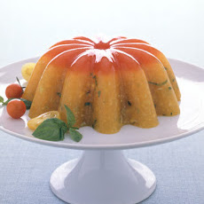 Yellow Gazpacho Aspic