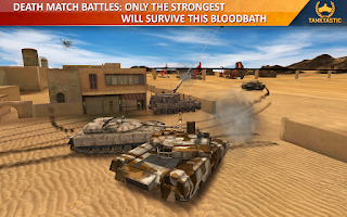 Screenshot of 3D Tanks Online: Tanktastic