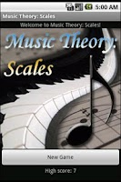 Screenshot of Music Theory: Scales