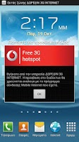 Screenshot of Vodafone Free 3G Hotspot