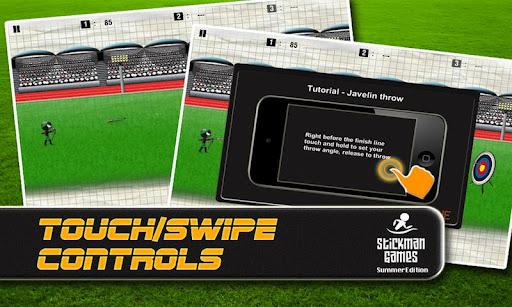 Stickman Games: Summer - screenshot