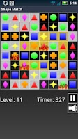 Screenshot of Shape Match