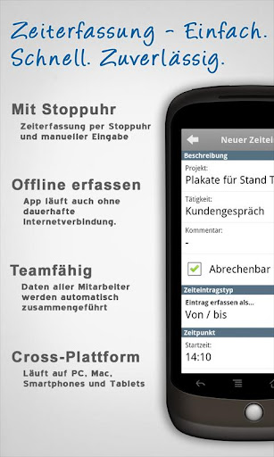 lmt-zeiterfassung-fur-projekte for android screenshot