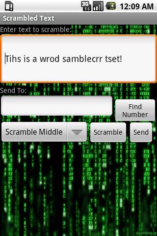 【免費娛樂App】Scrambled Text-APP點子