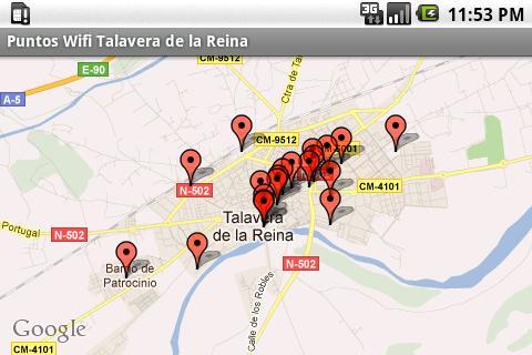 WIFI in Talavera de la Reina
