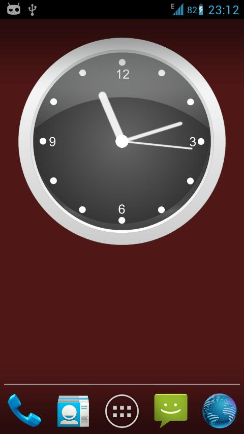 Clock Live Wallpaper Screenshot 4