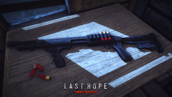 Screenshot of Last Hope - Zombie Sniper 3D