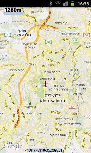 Hebrew Map