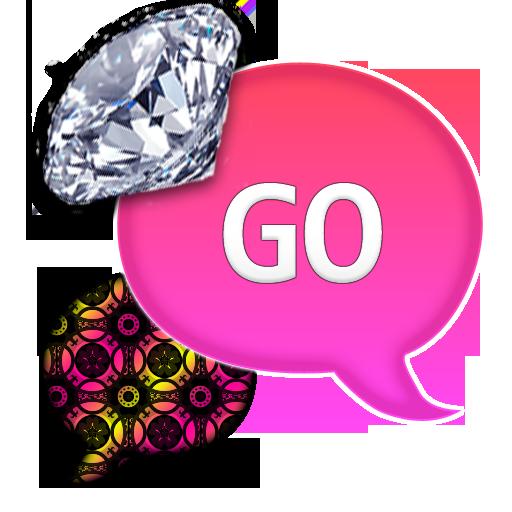 GO SMS - Diamond BrightPattern 個人化 App LOGO-APP開箱王
