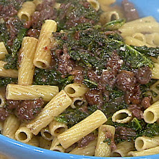 Sausage, Kale and Cranberry Pasta