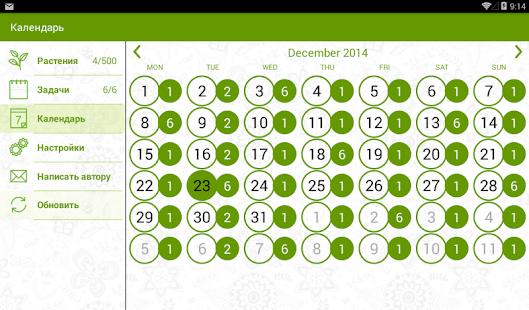 Комнатных растений календарь работ