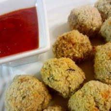 Potato And Aubergine Balls