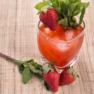 Strawberry-Balsamic Tequila Sour