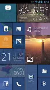 Free Color Box GO Live Theme (Blue) APK for Windows 8