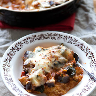 Polenta & Vegetable Bake