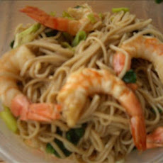 Soba and Shrimp Salad