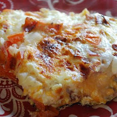 Fluffy Bacon-Cheese Frittata