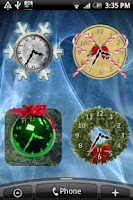 Screenshot of Christmas Clock Countdown