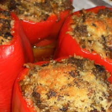 Stuffed Peppers with Cabbage