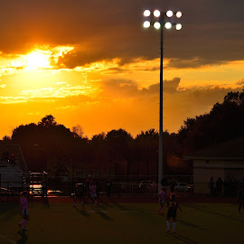 Under the Lights by James Maskell - Sports & Fitness Soccer/Association football (  )