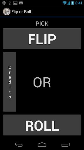 Flip or Roll