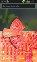 Screenshot of Amor Latino Keyboard