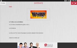 Screenshot of Grupo Radio Centro HD