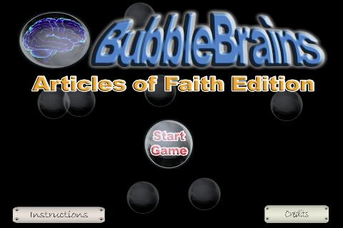 LDS Articles of Faith 1.0
