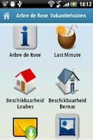 Screenshot of Arbre de Rose Vakantiewoningen