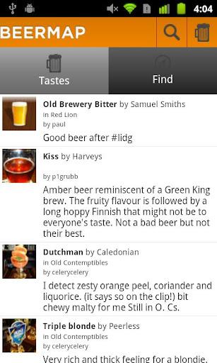 BeerMap.co: Taste Rate Share