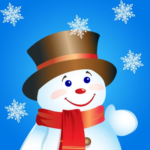 冬日爆爆 - 救救魔法雪人 休閒 App LOGO-硬是要APP