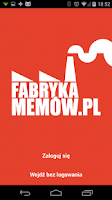 Screenshot of Fabryka Memów