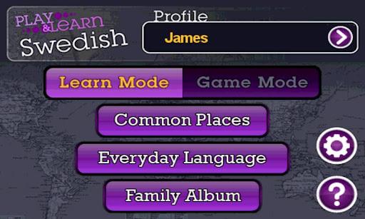 Play and Learn Swedish