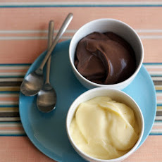 Vanilla or Chocolate Pudding