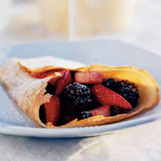 Berry-Filled Cinnamon Crepes