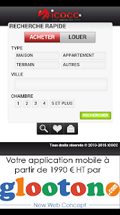 ICOCC Immobilier - screenshot