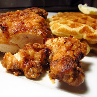 Southern-Fried Chicken & Waffles