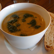 Spiced Roasted Parsnip Soup