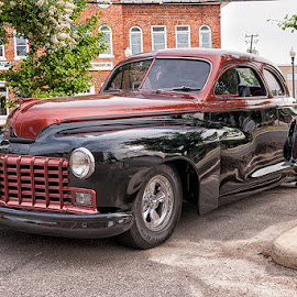 by Walter Farnham - Transportation Automobiles ( rod, color, copper and black, 2 door, dodge,  )